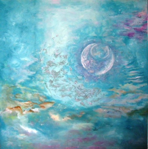 ציורי אקריליק, אומנות מקורית, ציורי רוחניות, ציורי מיסטיקה