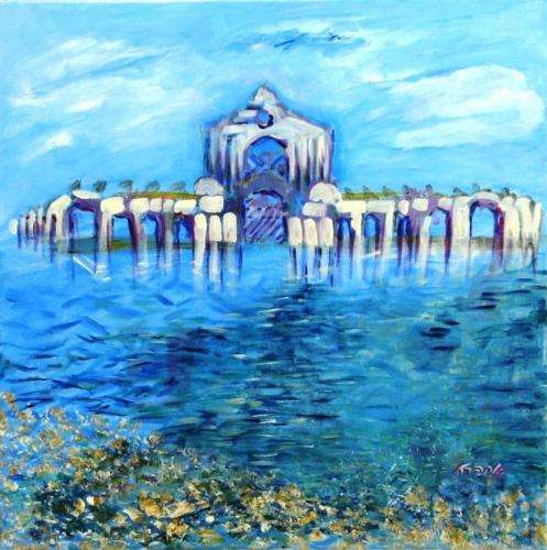 ציורי אקריליק, ציורי רוחניות, ציור מיסטיקה