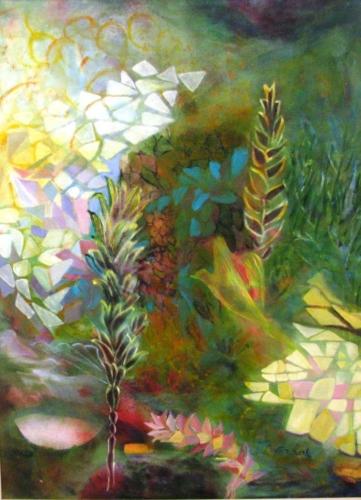 ציורי אקריליק, ציורי פרחים, ציור מופשט נוף ישראל, ציור ציפור