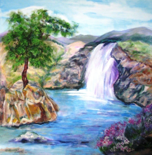 ציור נוף ארץ-ישראל, ציורים אוריגינליים